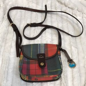 Dooney & Bourke Small Plaid crossbody Purse